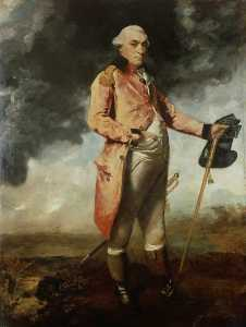Joshua Reynolds - major général george catchmaid morgan
