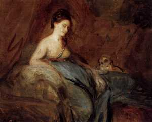 Joshua Reynolds - L actrice Kitty Fisher
