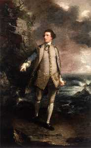 Joshua Reynolds - Contre-amiral augustus keppel
