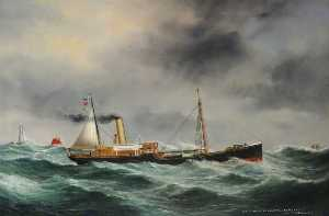Ruben Chappell - SS 'James Tennant' de Newcastle ( Faute Meteo )