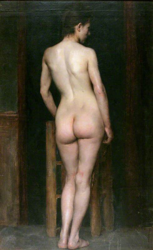 nu féminin, 1888 de Richard Jack (1866-1952, United Kingdom) | WahooArt.com