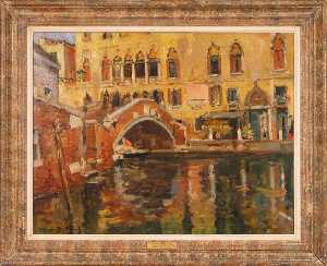 Maurice Bompard - Canal une Venise