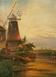 Henry Baines - Gaywood Moulin , Norfolk