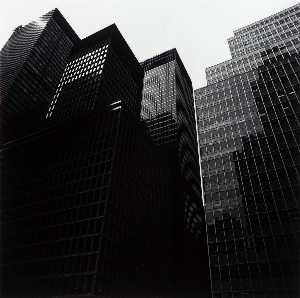 Harry Callahan - untitled new york Gratte-ciel