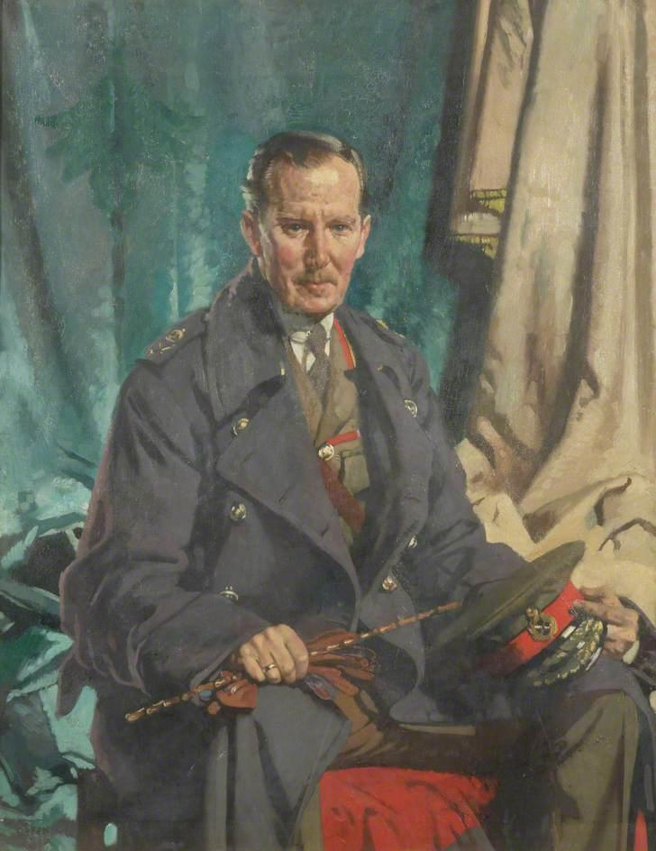 général sir john s cowans, 1931 de William Newenham Montague Orpen (1878-1931, Ireland) | Reproductions D'art Sur Toile | WahooArt.com
