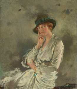 William Newenham Montague Orpen - mme charles s carstairs
