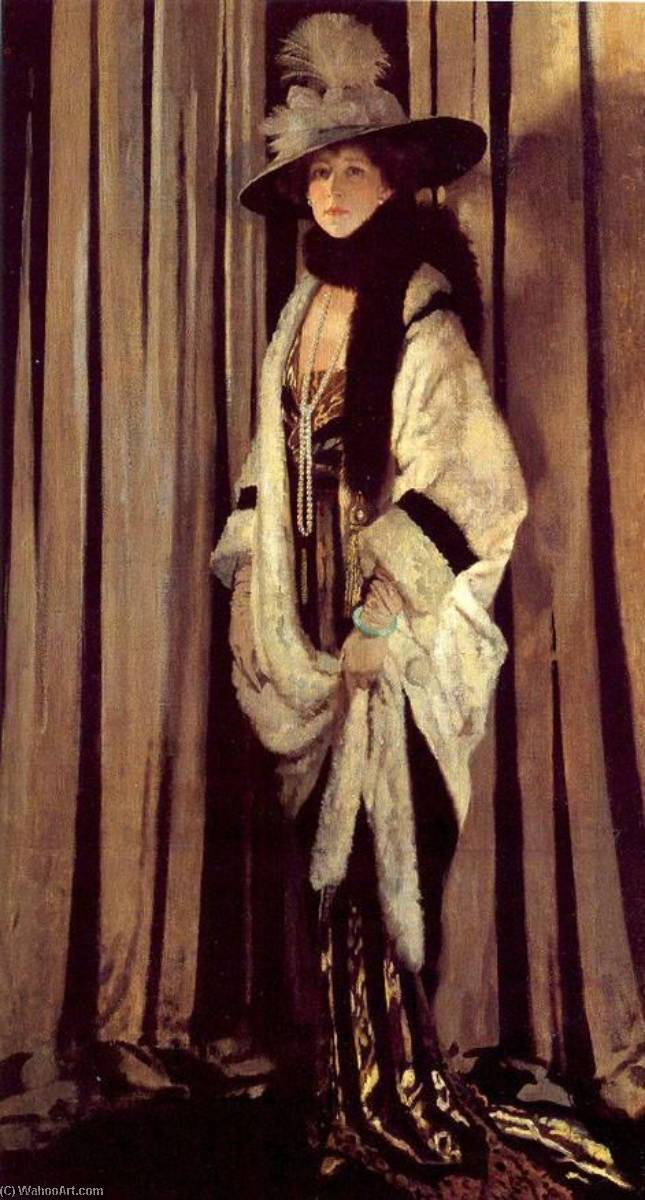 Mme . St . George de William Newenham Montague Orpen (1878-1931, Ireland) | Reproductions D'art Sur Toile | WahooArt.com