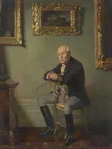 William Newenham Montague Orpen - Gentleman en costume d équitation