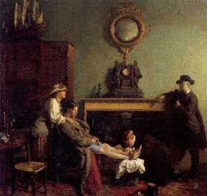 William Newenham Montague Orpen - Une Pur Fracture