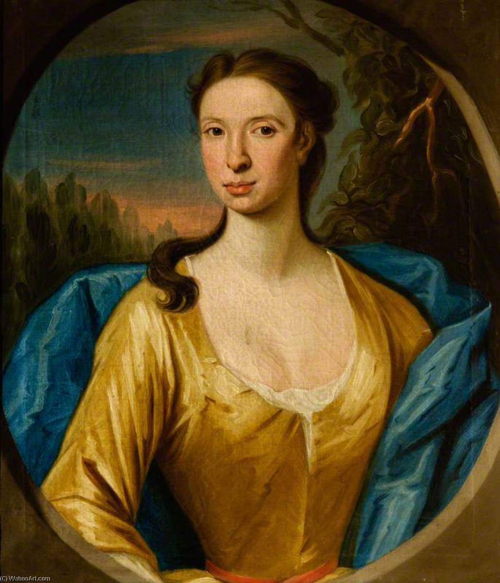 Marie hay of rannes ( ré . 1736 ) , Femme de john leith de William Mosman | Copie Tableau | WahooArt.com