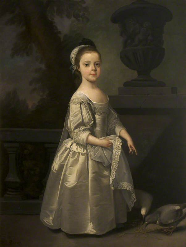 Réputée hester egerton ( 1708–1780 ) , Plus tard mme william Tatton ( en réalité frances maria fountayne , c . 1751–1777 , plus tard mme william tatton egerton , aussi une Enfant ), 1750 de Henry Pickering | Copie Tableau | WahooArt.com