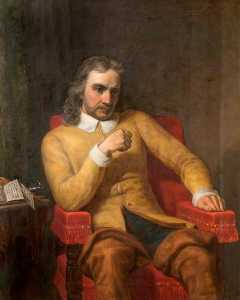 Charles Lucy - oliver cromwell ( 1599–1658 )
