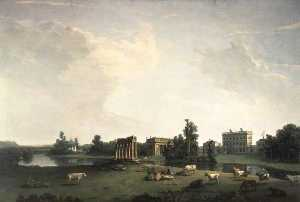 Nicholas Thomas Dall - louest Devant Shugborough