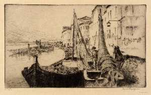 Bertha Evelyn Jaques - Seiners , Chioggia