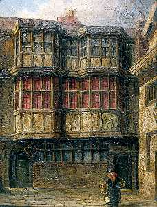 David Hodgson - Monsieur Benjoin Wrench's Cour , Norwich bishop