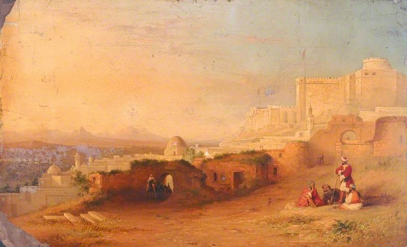 E l Kaf , l'ancien sicca veneria , Tunis , Tunisie, lambris de Jennens Bettridge