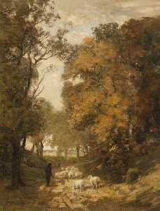 William Mouncey - AUTOMNE EN au  bois