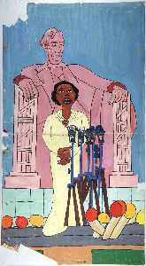 William Henry Johnson - marian anderson 1