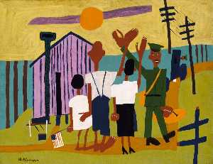 William Henry Johnson - off guerre