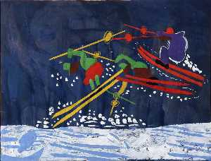 William Henry Johnson - Ski Bondir