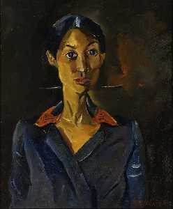 William Henry Johnson - portrait étudier pas  16