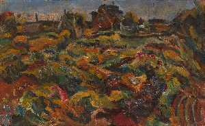 William Henry Johnson - Foyers et le jardin , Kerteminde