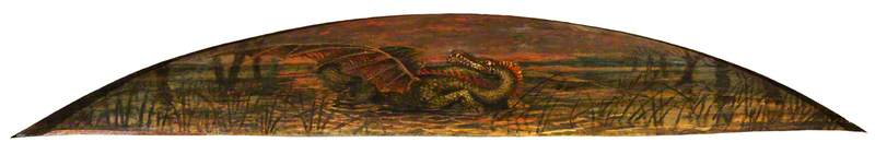 theodore watts dunton cabinet the dragon, 1898 de Henry Treffry Dunn | Copie Tableau | WahooArt.com