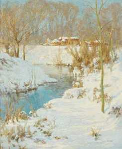 Harry William Adams - un hiver Soleil