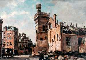 Edward Robert King - the connaught drill hall , Stanhope Route , Portsmouth