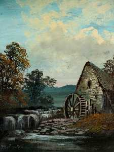 Alfred Worthington - Moulin à eau