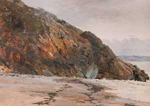 Frederick William Hayes - Crépuscule , Criccieth