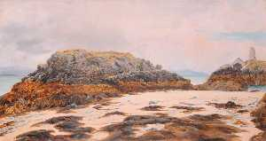 Frederick William Hayes - Llanddwyn La tour