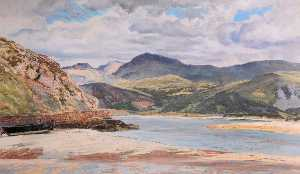 Frederick William Hayes - Barmouth Estuaire