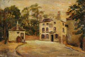 Ernest Stamp - Le 'Spaniards Inn' , Octobre