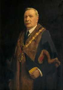 John Archibald Alexander Berrie - Adjoint au maire james thomas Casier , JP , Maire de Warrington ( 1923–1925 )