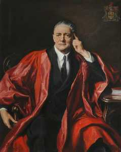 Reginald Henry Lewis - william morris , lord nuffield ( copie d'après Philippe alexius de lászló )