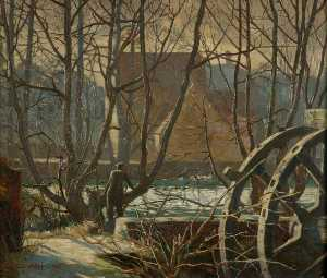 Charles Ernest Cundall - Temeside , Ludlow