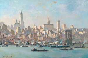 Charles Ernest Cundall - new york , de brooklyn