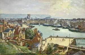 Charles Ernest Cundall - Dieppe