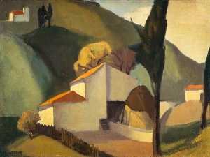 William Crozier - Paysage italien