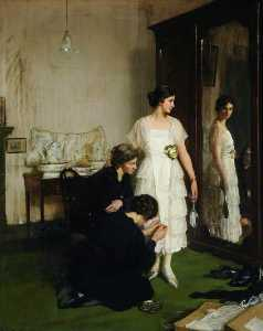 Frederick William Elwell - le nouveau Robe
