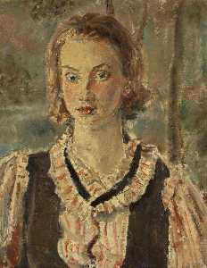 Ethel Walker - Portrait d une fille