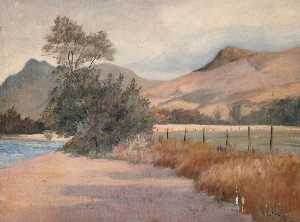 Robert Lillie - À côté river orchy , Dalmally