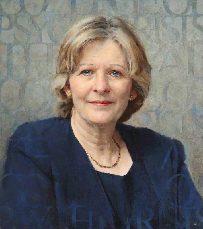 Professeur sheila hollins , Président de royal Université de Psychiatres ( 2005–2008 ), 2009 de Keith Breeden | Reproductions D'art Sur Toile | WahooArt.com