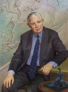 June Mendoza - Monsieur John Roi homme , FRS , Le vice Chancelier ( 1986–2001 ) , Honoraire Ensemble ( 2001 )