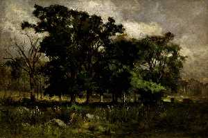 Edward Mitchell Bannister - Arborescence Paysage