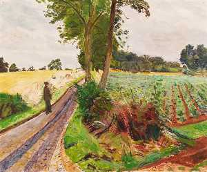 Carel Victor Morlais Weight - Gloucestershire Paysage