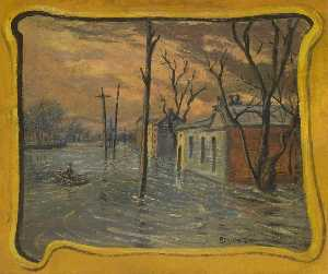 Louis Michel Eilshemius - le inondations