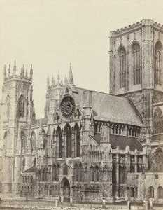Francis Frith - York Cathédrale , Westfront