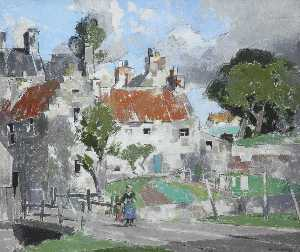 John Guthrie Spence Smith - un village dans  Fifre
